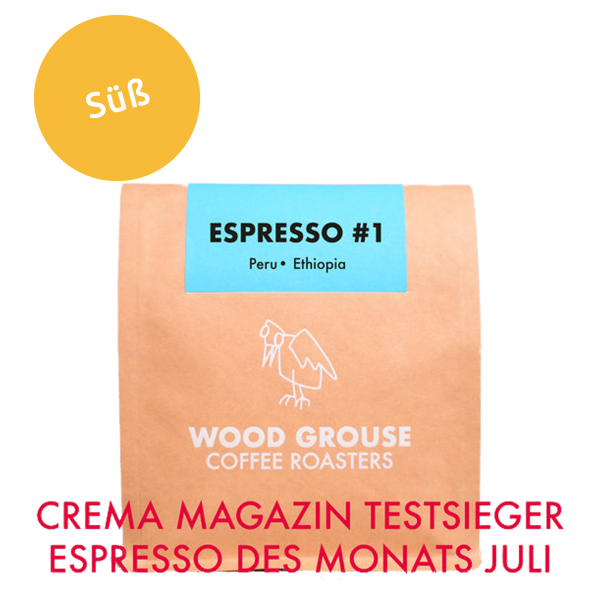 Wood Grouse Coffee Roasters Espresso #1